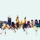 Perth Australia Skyline by Michael Tompsett