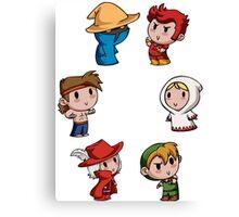 Teenies - Final Fantasy Chibis! Canvas Print
