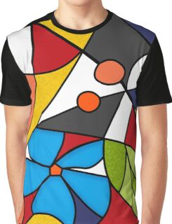 Abstraction. Curves and bends.  Graphic T-Shirt
