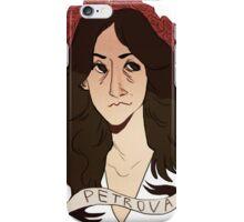 petrova doppelgangers iPhone Case/Skin