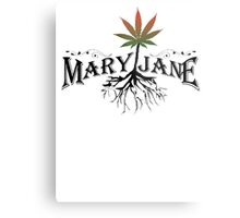 Earthy Mary Jane Roots Metal Print