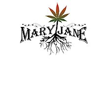 Earthy Mary Jane Roots Photographic Print