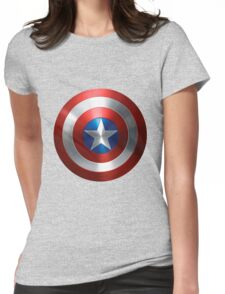 captain america new Womens Fitted T-Shirt