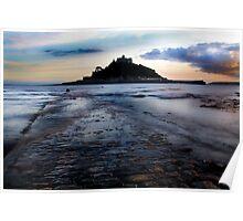 St. Michael's Mount, Cornwall, UK ~ Atlantic Coast Poster