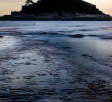 St. Michael's Mount, Cornwall, UK ~ Atlantic Coast Sticker