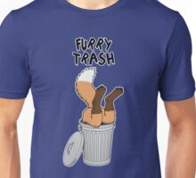 Furry Trash - Red Fox Unisex T-Shirt