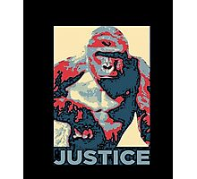 The Gorilla Support T-Shirts Photographic Print
