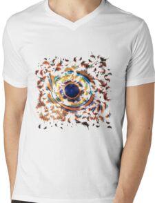 Fish Eye Mens V-Neck T-Shirt