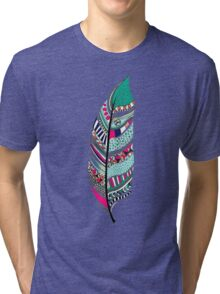 sweet tribal feather  Tri-blend T-Shirt