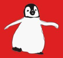 Happy Penguin One Piece - Short Sleeve