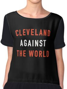 cleveland against the world   Chiffon Top