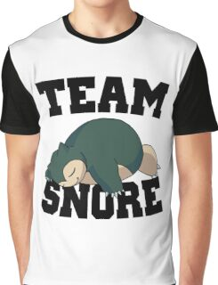 Team Snore Snorlax v2 Graphic T-Shirt