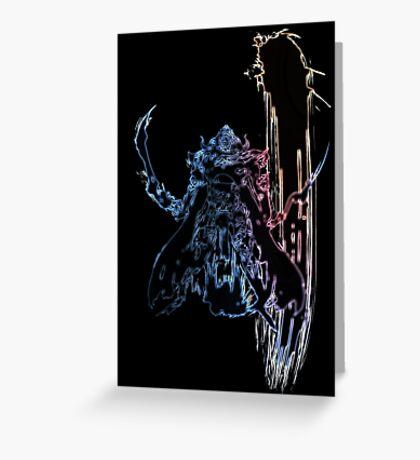 °FINAL FANTASY° Final Fantasy XII Neon Logo Greeting Card