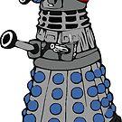 Doctor who dalek fez  by Scott Barker