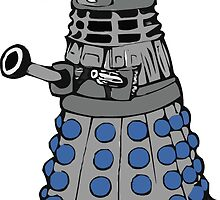 Doctor who dalek fez  by PIXELATED DINOSAUR ILLUSTRATIONS