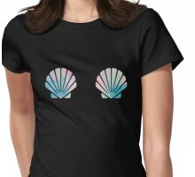 Mermaid SeaShell Bra Womens Fitted T-Shirt