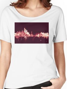 New York Skyline Women's Relaxed Fit T-Shirt