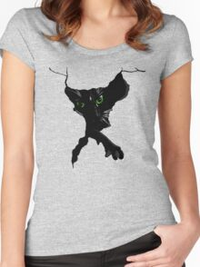 Wall Cat Women's Fitted Scoop T-Shirt