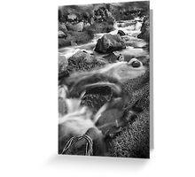 Cot Valley, Cornwall, UK, Stream 1 ~ Atlantic Coast Greeting Card