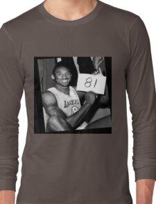 Kobe Bryant - 81 points Long Sleeve T-Shirt