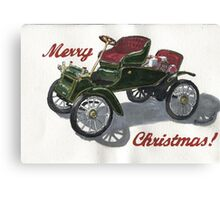Christmas Model T Canvas Print