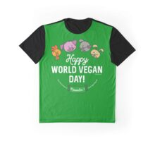 Happy World Vegan Day Graphic T-Shirt