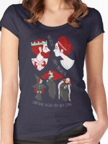 Shakespearean pattern - Macbeth Women's Fitted Scoop T-Shirt