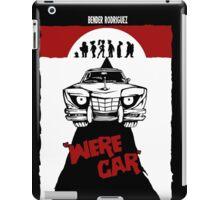 Were Car iPad Case/Skin