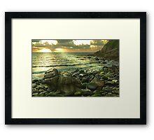 Porth Nanven 2, Cornwall, UK ~ Atlantic Coast Framed Print