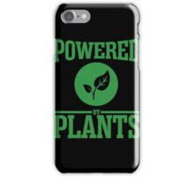 Vegan - Powered By Plants iPhone Case/Skin