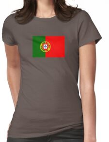 Portuguese Flag - Portugal Duvet Womens Fitted T-Shirt