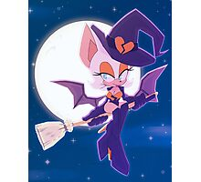 Batty Witch Photographic Print