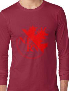 NERV Anti-Godzilla Division Long Sleeve T-Shirt