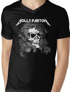 Dolly Parton Metal Mens V-Neck T-Shirt