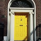 Dublin door - the yellow one by bubblehex08