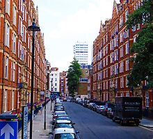 Westminster Side Street by PlaneMad1997