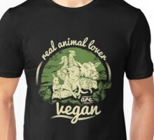 Vegan - Real Vegan Unisex T-Shirt