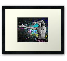 Splat! Framed Print