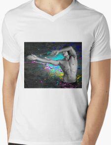 Splat! Mens V-Neck T-Shirt