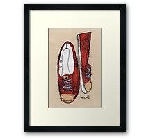 Favourite Pumps Framed Print