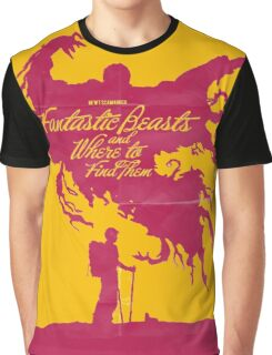 Fantastic beast and where to find them the movie Graphic T-Shirt