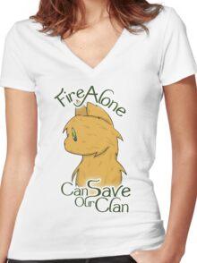 Firestar Women's Fitted V-Neck T-Shirt
