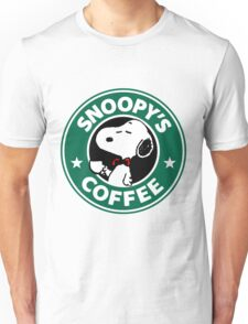 Snoopy Starbucks Unisex T-Shirt
