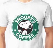 Snoopy Starbucks Unisex T-Shirt