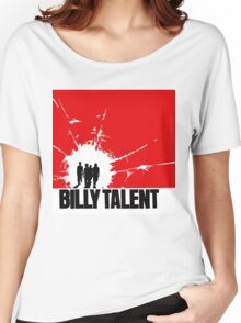 BILLY TALENT TOURS 1 Women's Relaxed Fit T-Shirt