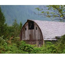 Middle Of Nowhere - Country Art Photographic Print