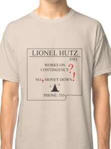 The Simpsons - Lionel Hutz - Money Down Classic T-Shirt