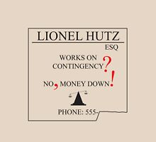 The Simpsons - Lionel Hutz - Money Down Unisex T-Shirt