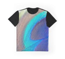 peacock feather macro Graphic T-Shirt