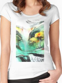 SpringFall Women's Fitted Scoop T-Shirt